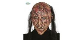 Careta zombie infectado. Látex