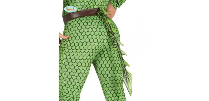 Cola dragón infantil latex 29 cm