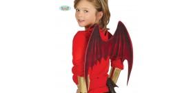 Alas demonio infantil 53 x 39 cm