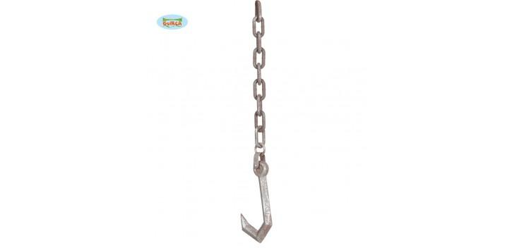 Cadena con gancho. 90 cm
