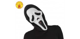 Máscara scream con capucha