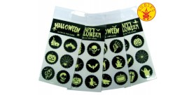 Stickers Halloween glow in dark