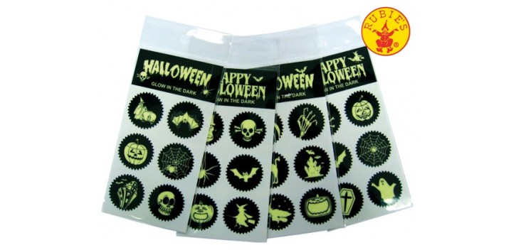 Stickers Halloween glow in dark