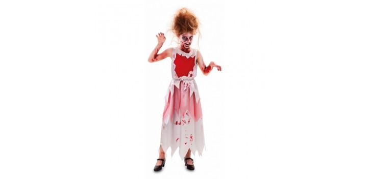 Disfraz de zombi sangrienta