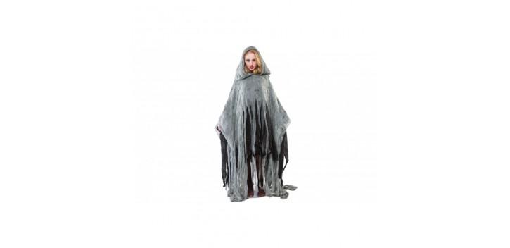 Disfraz de poncho zombie