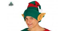 Gorro Elfo con Rayas y Orejas