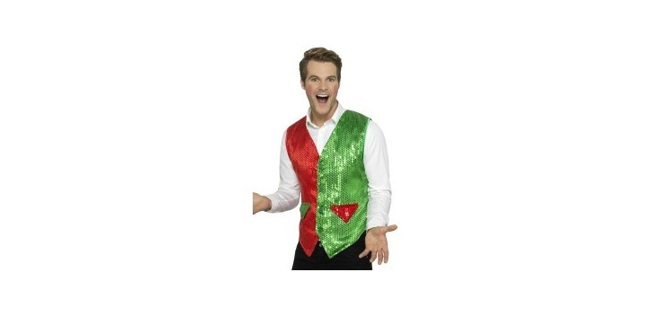 Chaleco Elfo con lentejuelas