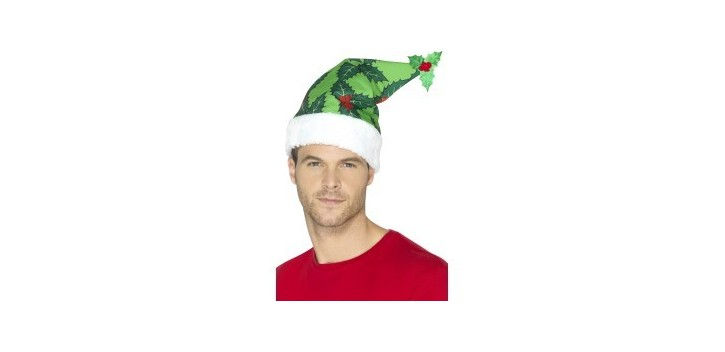 Sombrero Papá Noël Verde