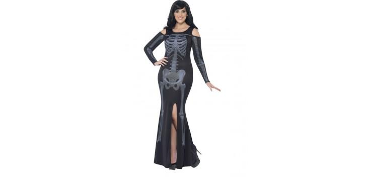 Esqueleto con curvas
