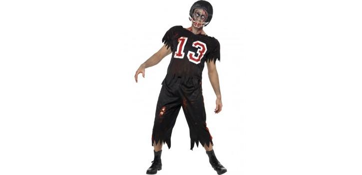 Jugador de fútbol americano High School Horror