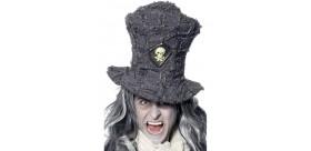 Sombrero de copa de sepulturero