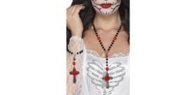 Conjunto de rosarios del día de muertos