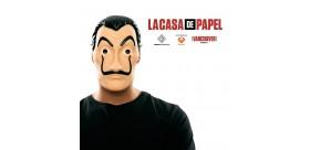 Máscara PVC Casa de papel