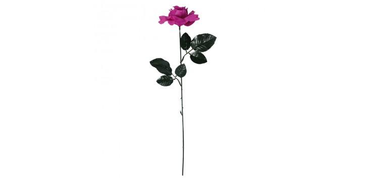 Rosa con calavera.