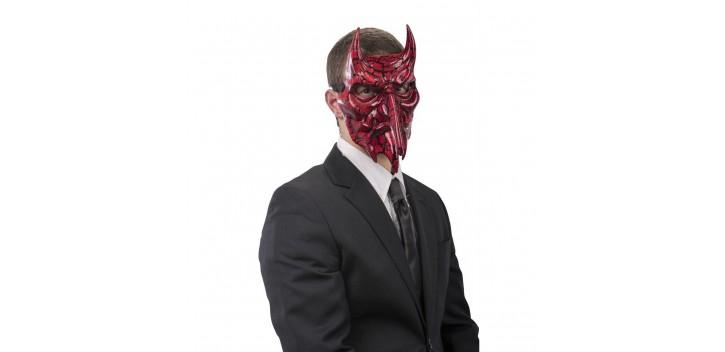 Máscara Diablo nariz larga