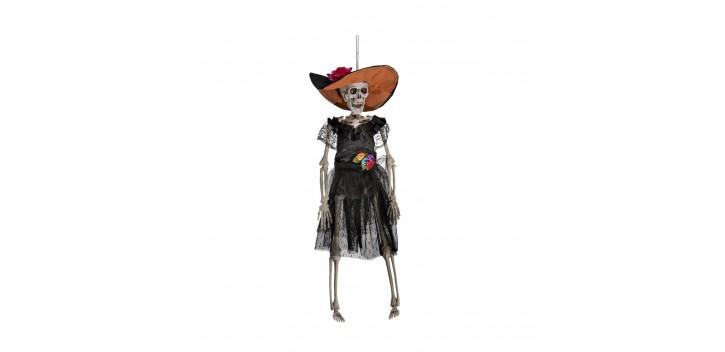 Esqueleto mujer mejicana.