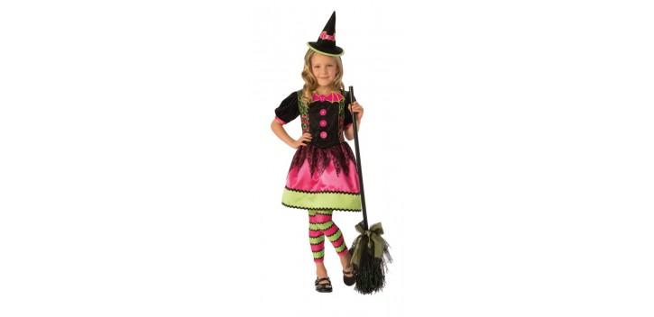 Disfraz de bruja brillante