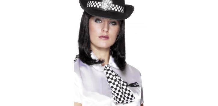 Bufanda de mujer policía