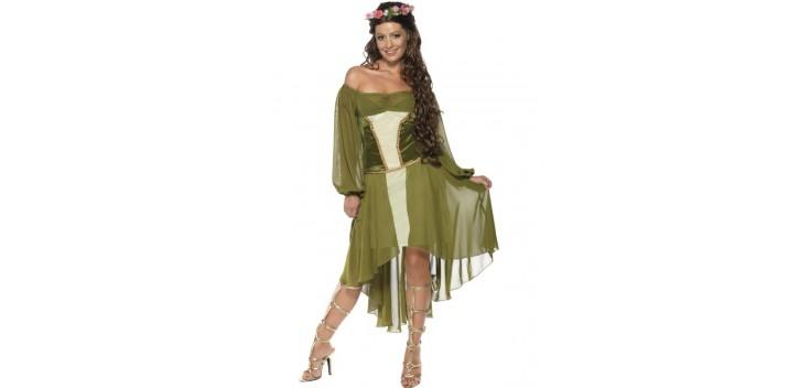 Disfraz de bella doncella