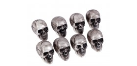 Cráneos de plástico