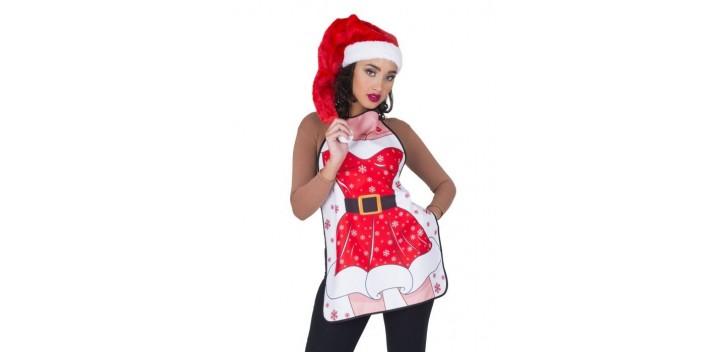 Delantal mujer de Navidad
