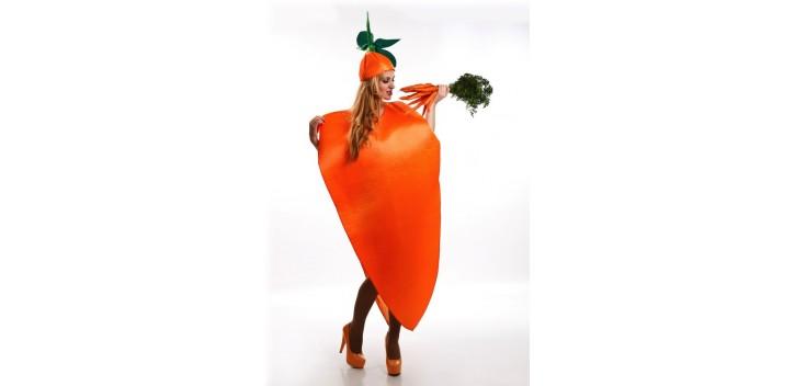 Disfraz Zanahoria adulto