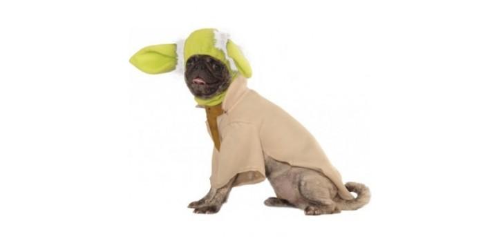 Disfraz Yoda Mascota