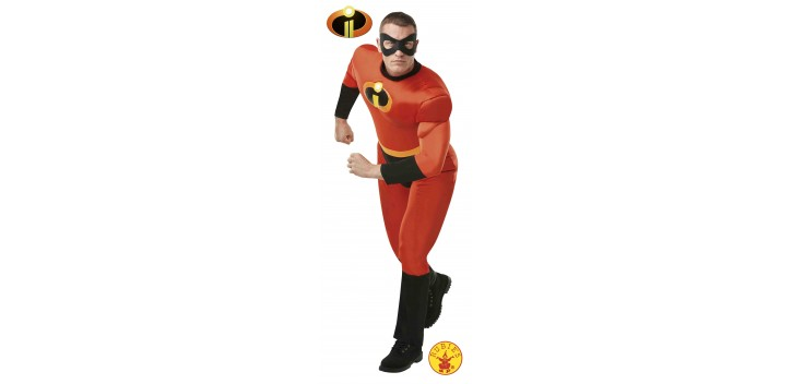 Disfraz Mr Increíble Musculoso Adulto
