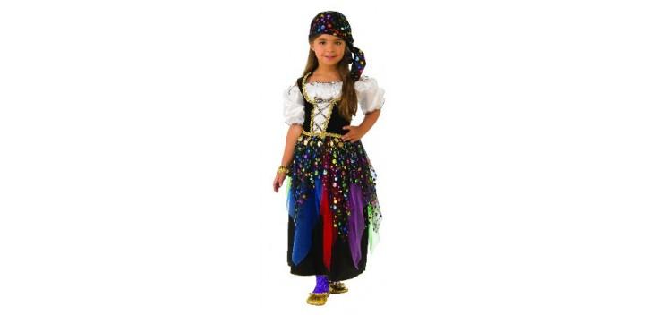 Disfraz Infantil Gitana