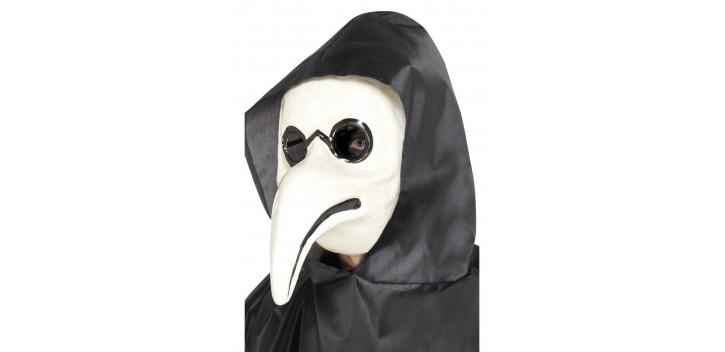Máscara auténtica plástica de Doctor Blanco
