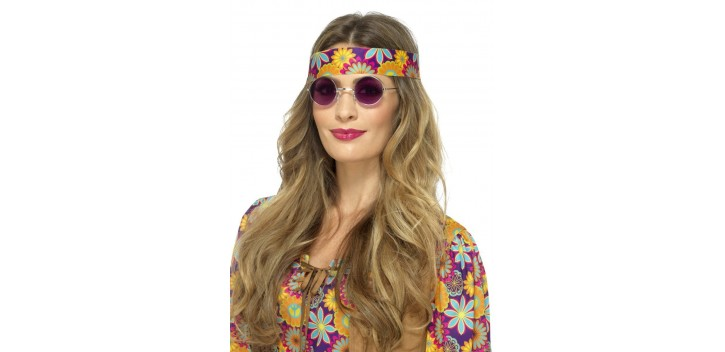 Gafas Hippies Moradas