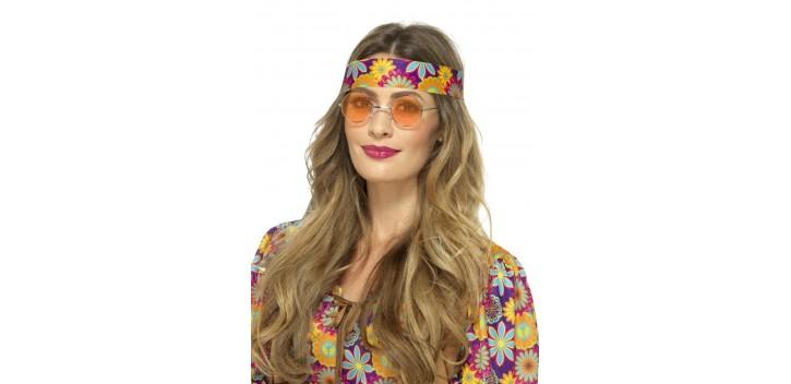 Gafas Hippies Naranjas