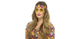 Gafas Hippies Amarillas