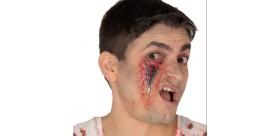 Cicatriz cremallera ojo