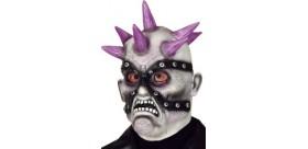 Máscara zombie punky