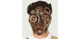 Máscara de gas steampunk