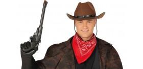 Pistola cañón largo