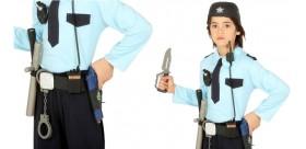 Cinturón policia con casco