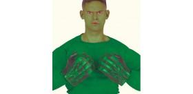 Guantes monstruo verde