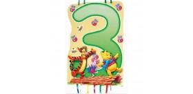 Piñata Winnie de Pooh - 3 años