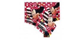 Mantel rojo Minnie Mouse