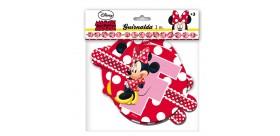 Guirnalda Feliz Cumpleaños Minnie Mouse