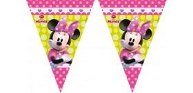 Guirnalda rosa Minnie Mouse