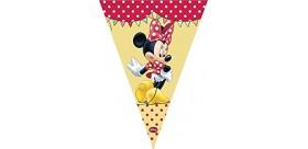 Guirnalda roja Minnie Mouse
