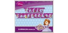 Guirnalda feliz cumpleaños princesa sofía