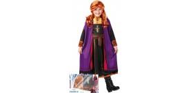 Disfraz y peluca en caja de la princesa Anna - Frozen 2