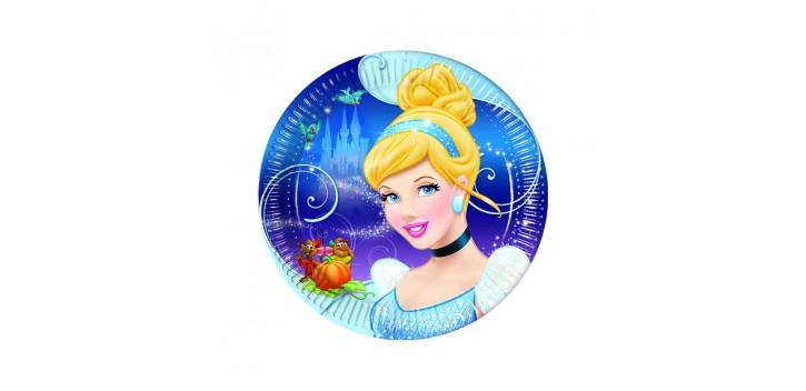 platos de la princesa Cenicienta