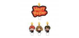 velas tarta Harry potter