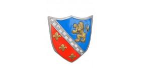 Escudo Caballero Medieval 56x43 Cms.