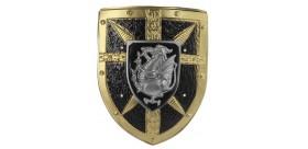 Escudo Dragon Medieval 40x33Cms.